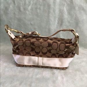 Coach signature logo mini handbag